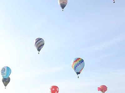 5月3~5日「バルーンフェス」 佐久で競技や搭乗体験