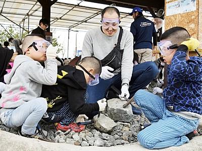 恐竜化石発見しよう 勝山市の発掘ランド、24日営業再開