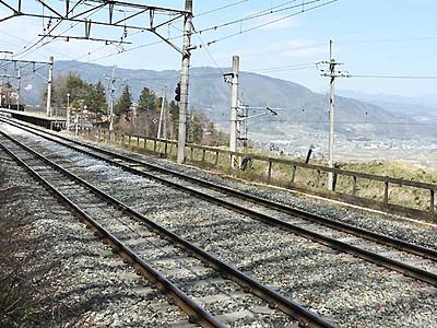 篠ノ井線の関心、ツアーで高める 「スイッチバック」体験を