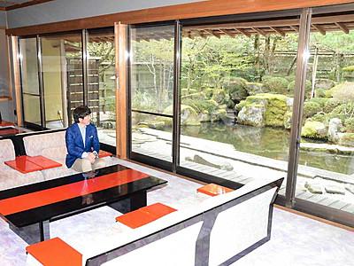 天竜峡の旅館「峡泉」再出発 横浜の企業が新装開業へ