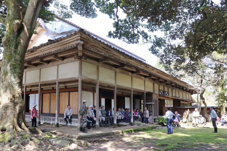 14、15日に一般公開される中原邸=12日、新潟市西区