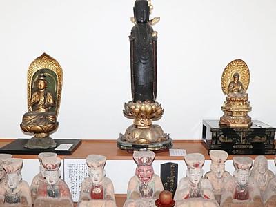 佐渡畑野・寺田堂3仏像 長谷寺に移転安置 14日初公開