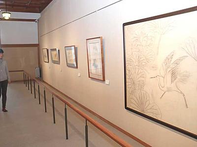 奥村土牛「醍醐」の下図公開 佐久穂の美術館で収蔵品展