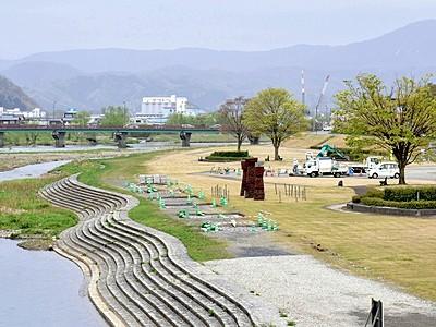 日野川の川辺でイタリアンを 4月28、29日イベント