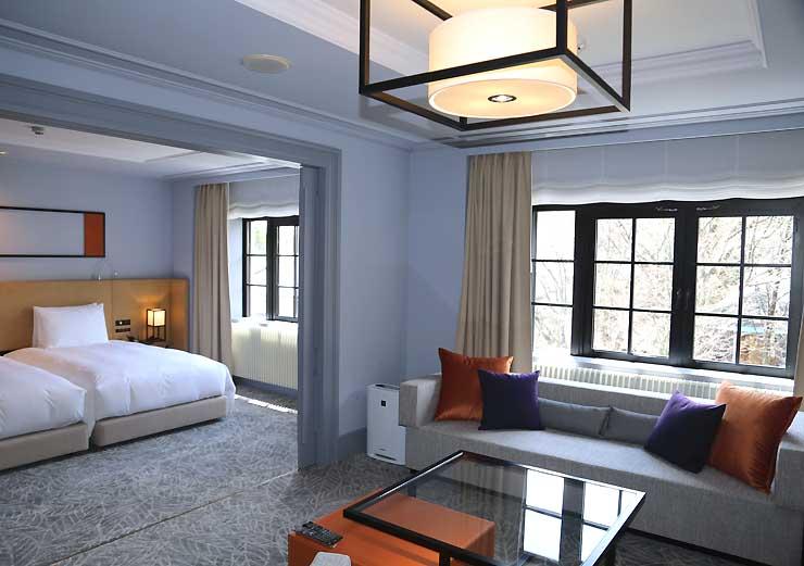 ヒルトンブランドとして開業するホテルの客室