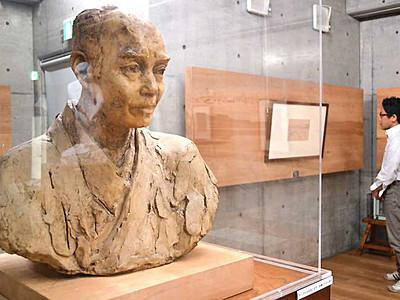 碌山芸術、貴重な資料も公開 安曇野・碌山美術館60年