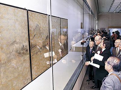 銘品ぞろい「奇跡の邂逅」 金沢3会場で「美のチカラ」展開幕