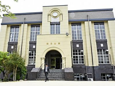 シンボル「昭和会館」の改修完了 今庄、国登録有形文化財