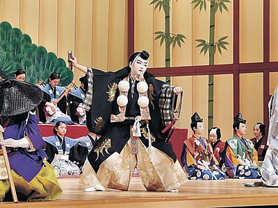 節目の「勧進帳」堂々 小松で20回目の全国子供歌舞伎フェス