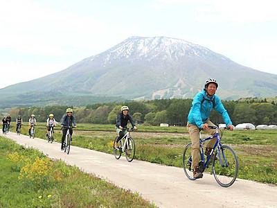 信濃町巡りはクロスバイクで 野尻湖へ黒姫高原へ