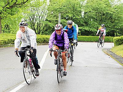 自転車で100キロ走る 射水でネオセンチュリーラン