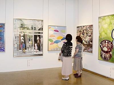 表現巧み、絵画・造形や写真451点 市美展ふくいが開幕