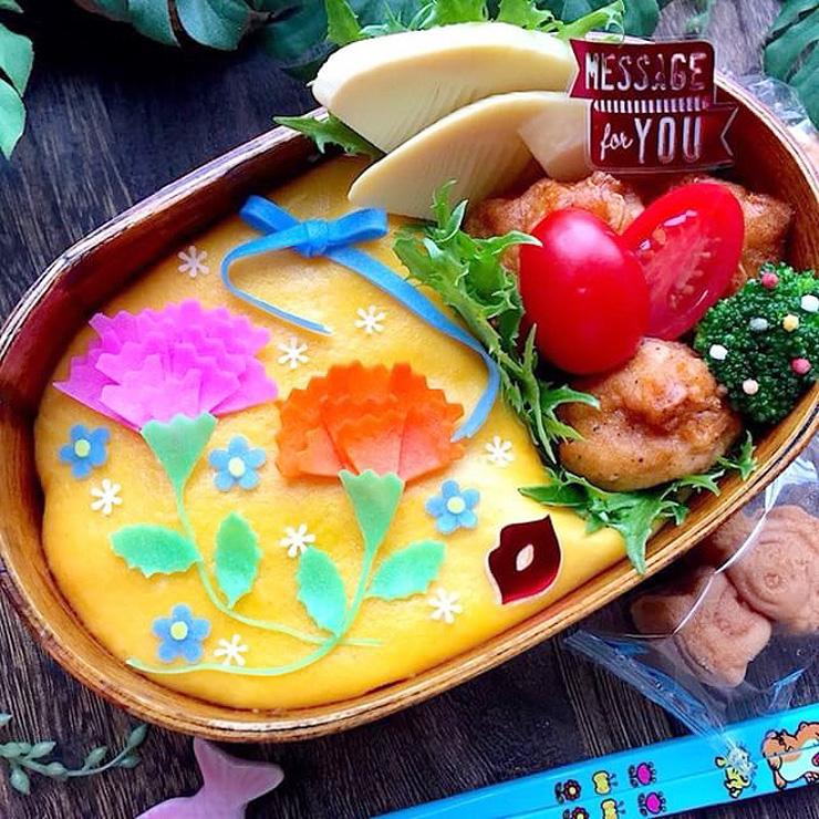 堀川さんが「ととしーと」を使って作った弁当