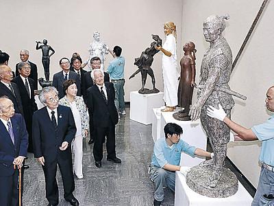 至高の美、準備整う 日展金沢展、26日開幕 県立美術館、5部門338点