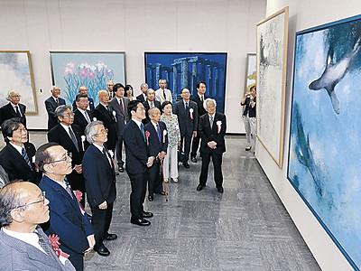 美の極致、風格漂わせ 日展金沢展、26日開幕