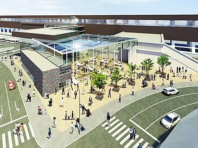 芦原温泉駅前に屋根付き広場を 北陸新幹線延伸向け整備計画
