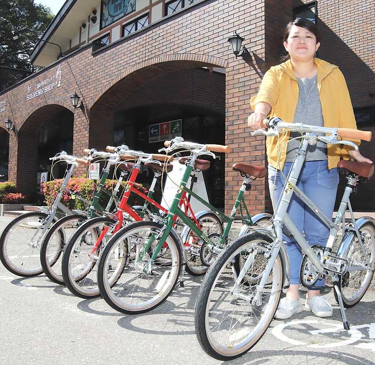 駒ケ根観光協会で貸し出す自転車