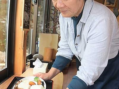美和ダムカレー、愛好家も満腹 伊那・長谷のカフェ