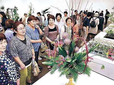 卓越の技で発想を形に 総合花展金沢展