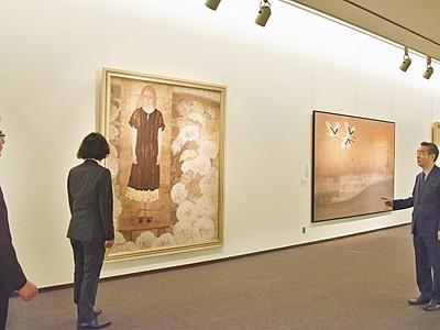 革新挑む日本画一堂 院展8日開幕、福井県立美術館
