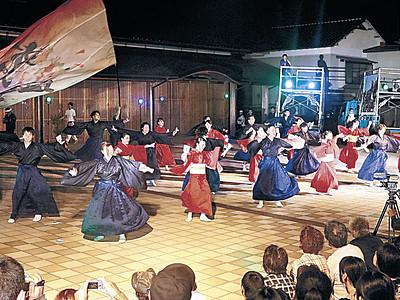 和倉彩る華麗な舞 能登よさこい祭り前夜祭