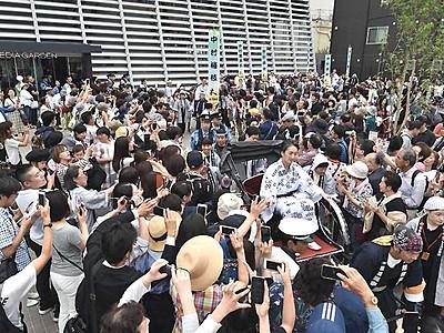 まつもと大歌舞伎12日開幕 「登城行列」沿道に4万8000人