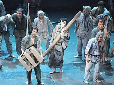 役者と市民一体、迫力の開幕 まつもと大歌舞伎