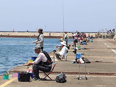 太公望だよ全員集合 上越・直江津港第3東防波堤釣り場