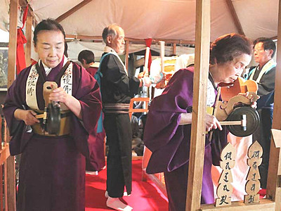 全国の踊り「ともに無形遺産に」 長野県内から3件