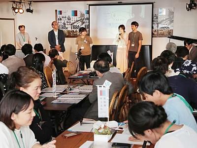 7月14日開幕「水と土の芸術祭」 企画PR熱く 新潟