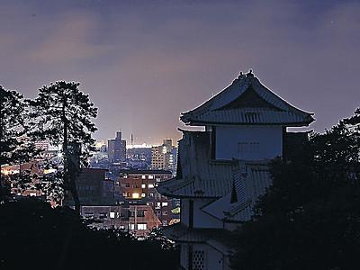 夏至の夜、金沢城の影 石川県内300カ所、一斉消灯