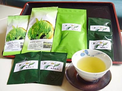 無農薬の味真野新茶を味わって 越前市の保存会が販売開始