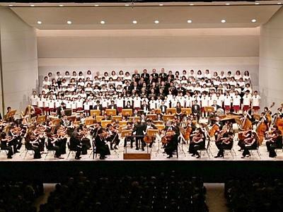 長岡市立劇場改修終え再オープン 東京フィルと市民共演
