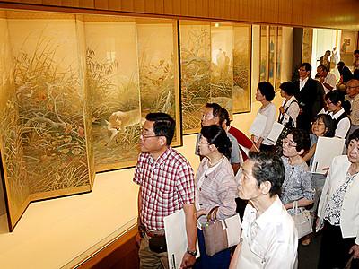 巨匠の日本画多彩 児玉希望展が開幕
