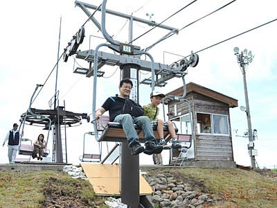 霧ケ峰高原で夏山リフトの運行開始