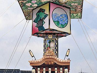 巨大山車が完成 珠洲で20、21日に燈籠山祭り