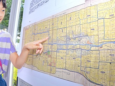 明治の福井の地図を紹介 福井県立図書館で資料展