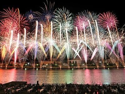 新潟まつり 花火大会は8月12日 民謡流し10日