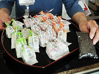 カイコのふん入りクッキー開発 城端の菓子店、漢方に注目