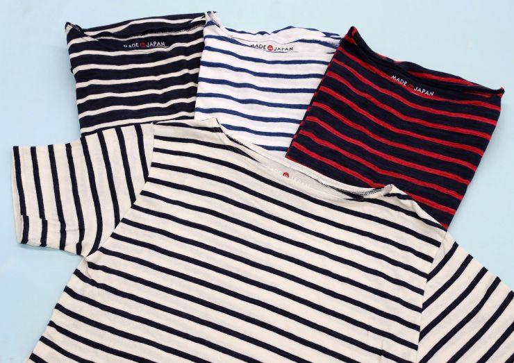 ライトオンが販売している栃尾のスペック染めを生かしたTシャツ