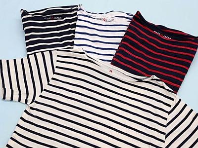 栃尾の染め物シャツに新風 大手チェーン商品化 長岡