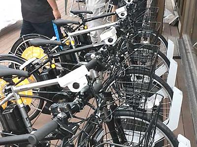 安曇野巡りは自転車で シェアサイクル事業始まる