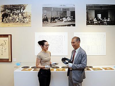 おわら歌い手・江尻豊治資料展示へ 上市の西田美術館