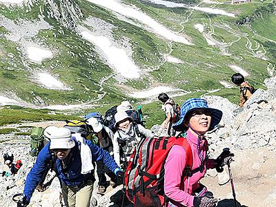 心躍る別世界 夏の立山