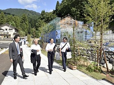 大本山永平寺旧参道、石畳で復元 福井県永平寺町
