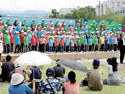 OMF18日開幕 松本に歓迎のハーモニー