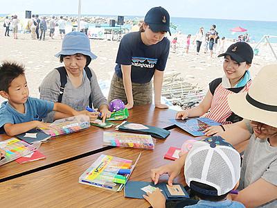 女子大生が海の家 朝日・宮崎海岸