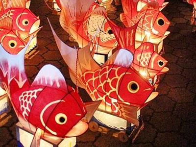 伝統の輝きつなぐ 鯛車の風情盆を彩る 新潟市西蒲区