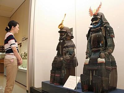 「高島藩の甲冑」 諏訪市の企画展で追加展示