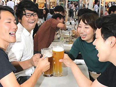 野外で楽しむ食の祭典 松本「サマーフェスト」開幕